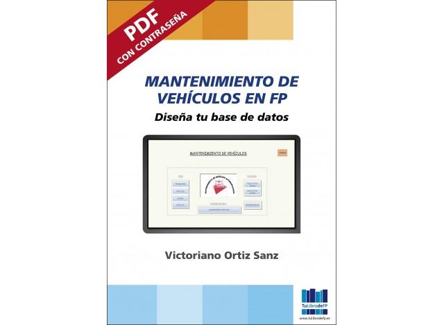 Mantenimiento de Vehículos en FP. Diseña tu base de datos