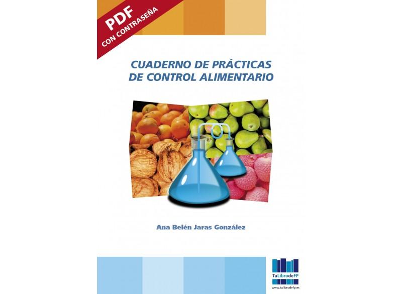 Cuaderno de prácticas de Control Alimentario